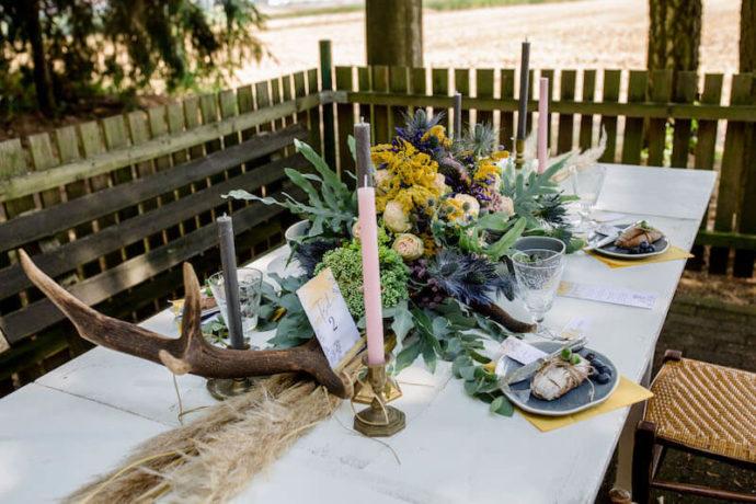 Tischdekoration Vollbild | Franziska Finger Hochzeitsfotografie