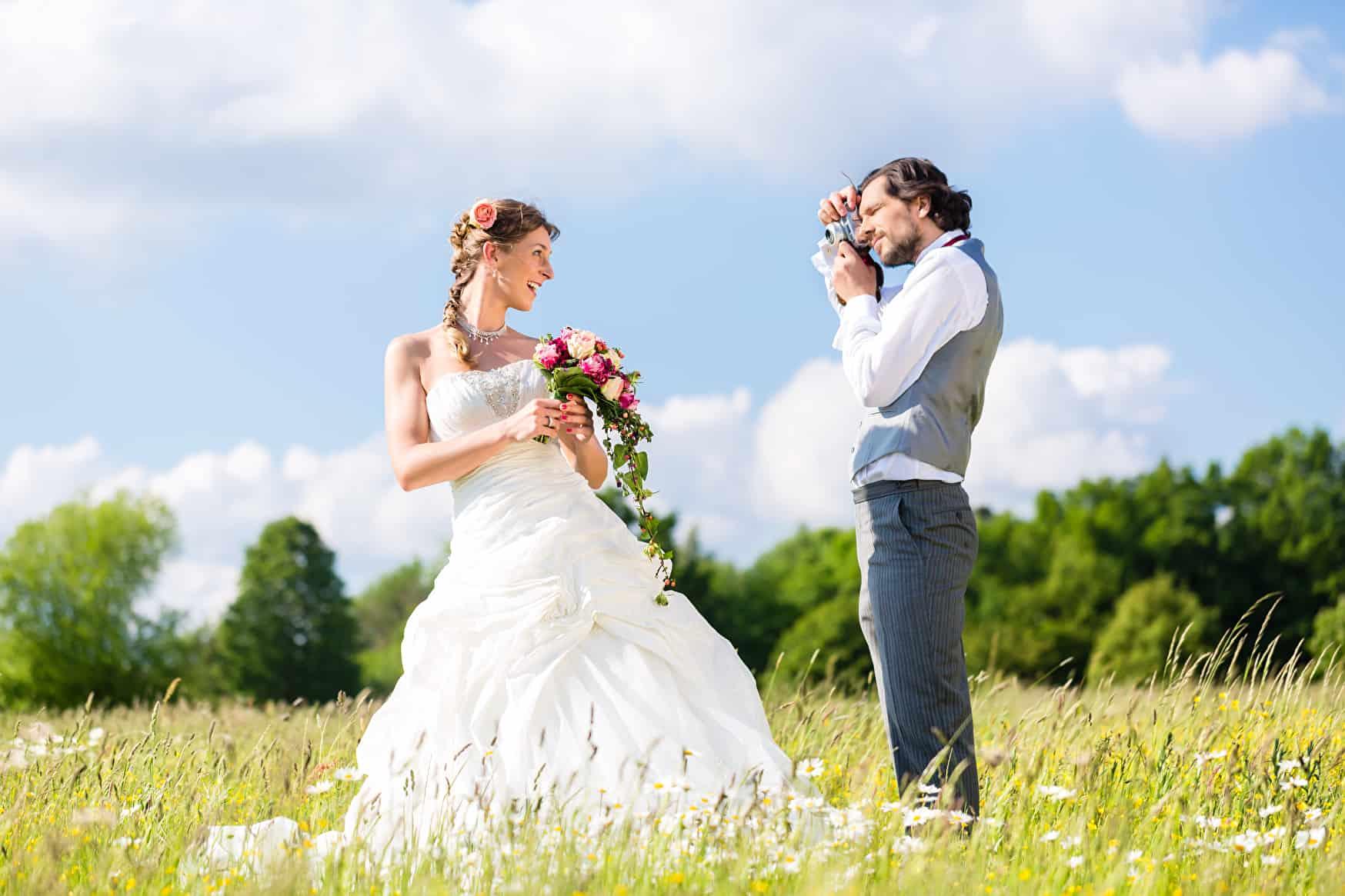 Fotos auf der Hochzeit | © panthermedia.net / Arne Trautmann
